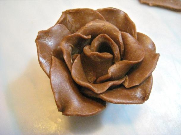 csokoládé virág