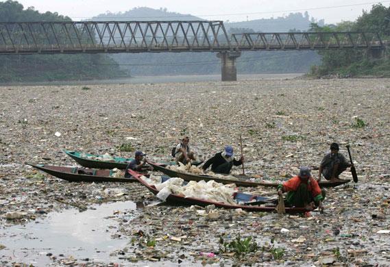 Citarum, a világ legmocskosabb folyója